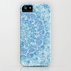 Blueberry Lace iPhone & iPod Case