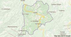 Mapa de Jardín, Antioquia