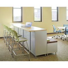 Using a variety of furniture in a classroom better fits a diversity of learning - learning styles, collaboration, movement, etc. - Herman Miller