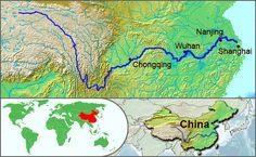 Yangtze River Map - 長江 - Wikipedia