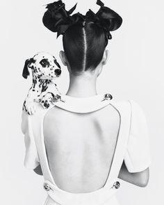 Vogue Korea portrait and pet photography
