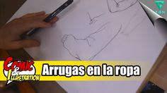 COMO EMPEZAR A DIBUJAR COMICS | 22ª clase | Dibujar arrugas en la ropa