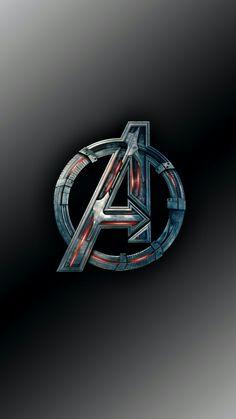 Free Logo Avengers Background Image On High Definition Wallpaper Logo Avengers, Iron Man Avengers, Marvel Logo, Marvel Art, Marvel Heroes, Marvel Movies, Marvel Avengers, Cartoon Wallpaper Hd, Avengers Wallpaper