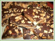 Dark Chocolate and Peanut Sweet & Salty Toffee