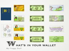 """My Froggy Stuff: What's in Your """"Doll"""" Wallet?"""