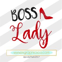 Boss Lady svg, eps, dxf, png, cricut, cameo, scan N cut, cut file, lady boss svg, boss lady cut file, woman boss svg, Boss svg, She boss svg by JMGraphicsCO on Etsy