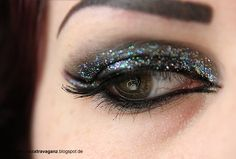 ! Miss von Xtravaganz !: Schminkaktion Hologram Cateye Makeup