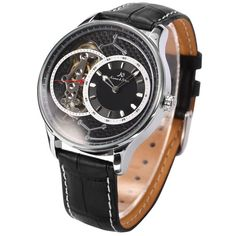 Women watchMen watch Automatic Watch Luxury Watch by HamzHandmade Black Leather Watch, Sport Man, Mechanical Watch, Automatic Watch, Omega Watch, Watches For Men, Steampunk, High Heels, Carving