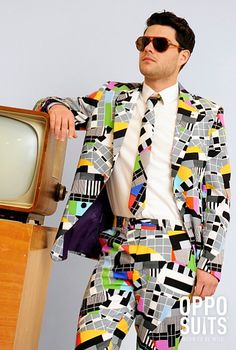 Verrückte und perfekt sitzende Testbild Anzug. €69,95. Kostenlose Lieferung. Hohe Qualität. - MentalSuits
