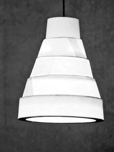 Pagoda #lamp #design Davide Dante Valerio. #lighting #foldable #3dprinting #flatpack #packaging #innovation