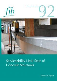 Serviceability Limit State of Concrete Structures fib Bulletins No. Serviceability Limit State of Concrete Structures. Concrete Cover, Concrete Structure, Reinforced Concrete