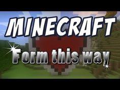 Minecraft - ♪ Form This Way (Minecraft Parody of Lady Gaga's Born This Way)