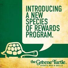 ... turtle hamp... Greene Turtle Rewards