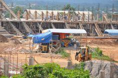 El nuevo estadio Roberto Jordán Cuellar de la ciudad de Cobija en Pando