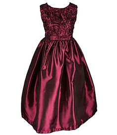 Jayne Copeland 712 Soutache Taffeta Dress #Dillards
