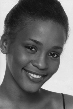 The beautiful Whitney Houston (1963-2012) This photo was taken in New York City in 1980 during her modeling days. Photo: Doug Vann/Corbis.