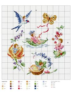 Fables & Fairy Tales to Cross Stitch 2018 — Yandex.Disk - Fables & Fairy Tales to Cross Stitch 2018 — Yandex. Cross Stitch Fairy, Cross Stitch For Kids, Mini Cross Stitch, Cross Stitch Needles, Cross Stitch Animals, Cross Stitch Flowers, Cross Stitch Charts, Cross Stitch Designs, Cross Stitch Patterns