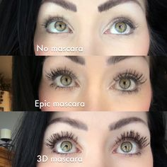 Younique Epic Mascara and Younique 3D mascara