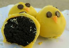 House 344: Where We Learned to Live, Love, and Cook: Baby Chick Oreo Truffles
