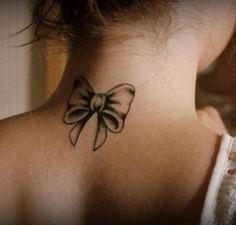 bow tattoos 3d realistic | Tattoomagz.com › Tattoo Designs / Ink ...