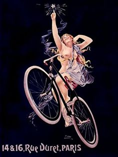 Bike Art! POSTER VINTAGE
