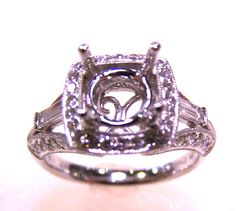 #Engagement Rings #semi-mounts