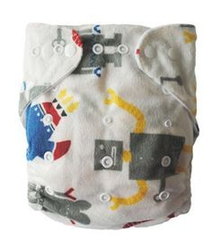 Robo-Bot Birth to Potty Pocket Nappy