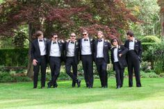 Groomsmen - Connecticut Wedding  http://caratsandcake.com/andrewandemily