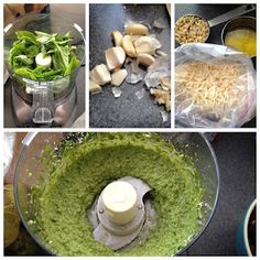 Simple Basil Pesto - so aromatic and delicious! Scd Recipes, Healthy Low Carb Recipes, Italian Recipes, Healthy Foods, Cilantro Pesto, Basil Pesto, Specific Carbohydrate Diet, Whole 30 Diet, Raw Vegan