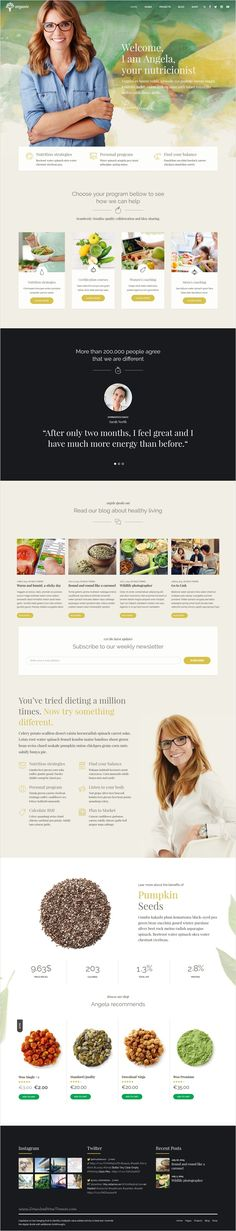 Organic Food is a awesome 9 in 1 #WordPress theme exclusively built for #webdev #nutritionist, health coach, cooking school, delivery and farm websites download now➩ https://themeforest.net/item/organic-food-nutritionist-food-wordpress-theme/18029019?ref=Datasata