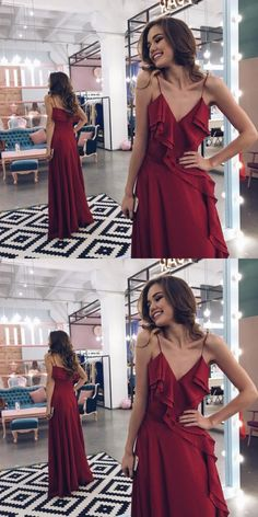 simple prom dresses, cheap burgundy prom dresses, elegant evening gowns, chic maroon  party dresses