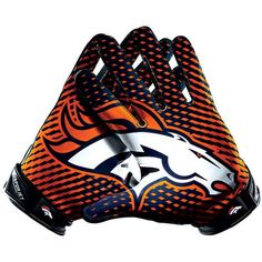 Nike Denver Broncos Vapor Jet 2.0 Team Authentic Series Gloves 1
