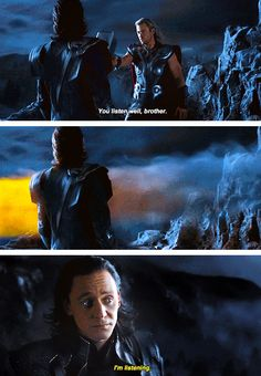 The Avengers | Oh, the sass.