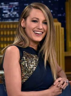 It looks like Blake Lively has motherhood to thank for its cleavage-boosting benefits.