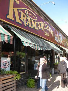 Kramarczuk's in Minneapolis, Minnesota est. 1954 Ukrainian, Hungarian, Polish etc. deli/eatery.