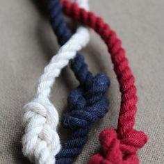 Infinity Wrap Bracelets! They go on forever! #ropebracelet #infinityknot…