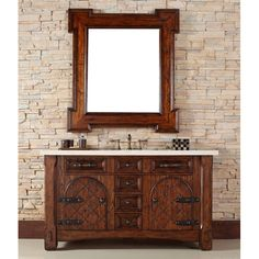 Marrakesh 60u201d Traditional Single Sink Bathroom Vanity By James Martin Model  #: 450