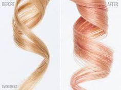 Résultats de recherche d'images pour «hair pink gold»
