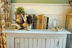 { Decorating with Natural Elements }