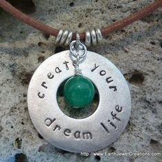 """you have the power to """"create your dream life""""....use your thoughts to focus on your desires & feel good.. :))"""