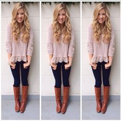 Love this Autumn/Winter outfit especially the shirt <3