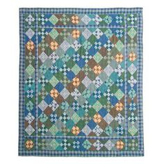 Patch Magic Chambray Nine Patch Quilt & Reviews | Wayfair