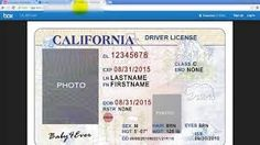 Template california drivers license editable photoshop file .psd ...