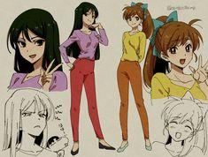 Fanarts Anime, Anime Manga, Anime Art, Manga Girl, Cartoon Characters As Humans, Face Characters, Character Concept, Character Art, Character Design