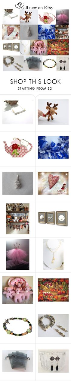 """""""Brand New on Etsy"""" by omearascottagecharm ❤ liked on Polyvore featuring Silver Lining, etsyfru and FRUHeartAttack"""