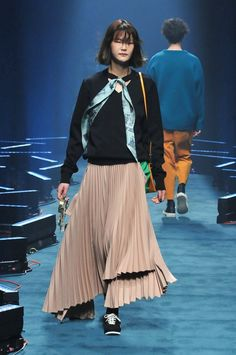 FREIKNOCK Fall/Winter 2018 Runway Collection Amazon Tokyo Fashion Week