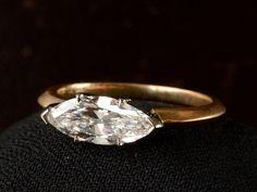 EB 1.16ct Marquise Diamond Ring