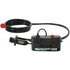 Zodi Outback Gear Battery-Powered Shower, Black