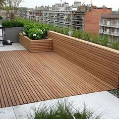 Patio boards Afrormosia - Terrasse Design - Shelves in Bedroom Pergola Kits, Outdoor Decor, Rooftop Terrace Design, Garden Architecture, Cheap Home Decor, Outdoor Decor Backyard, French Home Decor