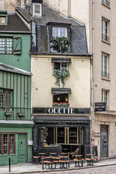"""wanderlusteurope: """" Rue Galande, Paris, France """""""